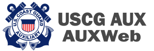 Coast Guard Auxiliary AuxWeb Icon